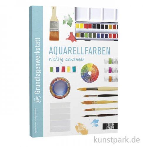 Aquarellfarben richtig anwenden, Edition Fischer