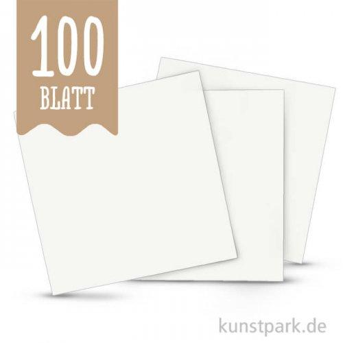 Aquarellpapier, 12 x 12 cm, 200 g, 100 Blatt