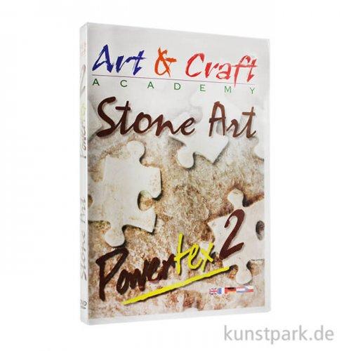 Art & Craft Academy - Stone Art von Powertex DVD 2, ca. 66 Minuten