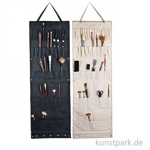 Atelier-Wandhänger mit 48 Taschen, Größe etwa 50 x 148 cm