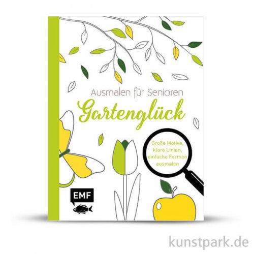 Ausmalen für Senioren - Gartenglück, Edition Fischer