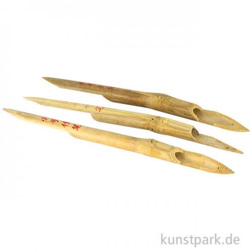 Bambusfedern, 3 Stück im Set