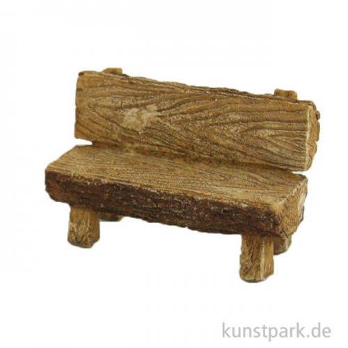 Miniatur Bank in Holzoptik, 9,5 cm