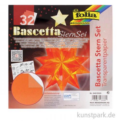 Bascetta-Stern Bastelset, 115g - orange