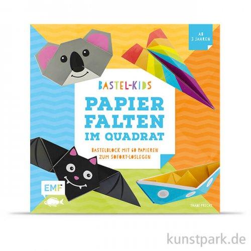 Bastel-Kids: Papier-Falten im Quadrat, Edition Fischer
