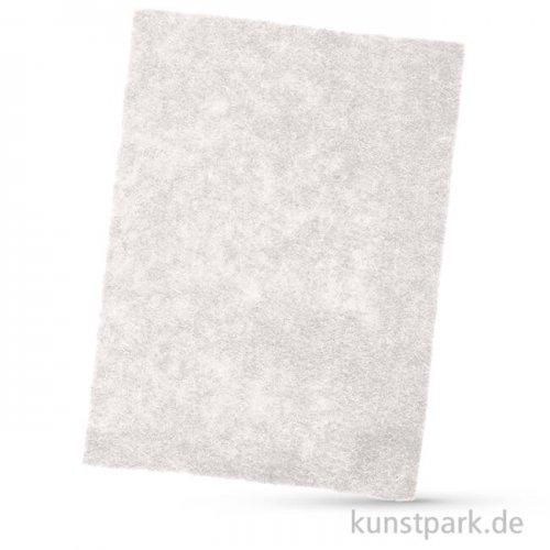 Bastelfilz, 1 Bogen, 4mm 30 x 40 cm | Weiß