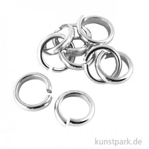 Biege-Ringe 2 mm, Durchmesser 10 mm, 10 Stück