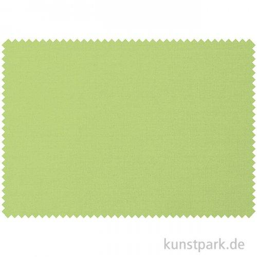 Baumwollstoff - Hellgrün Uni - 1 m x 1,4 m