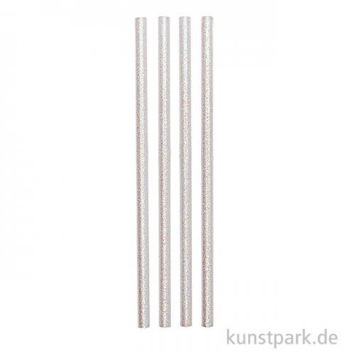 Bleistifte Set - Glitter Weiß