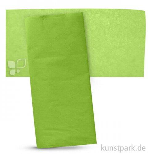 Blumenseide 50x70 cm, 5 Bogen, 20g 5 Bogen | Hellgrün