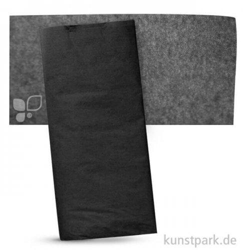 Blumenseide 50x70 cm, 5 Bogen, 20g 5 Bogen | Schwarz