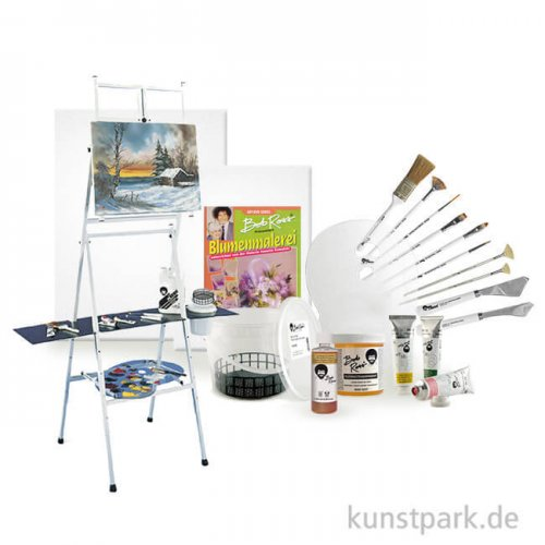 Bob Ross BIG Set - Blumen