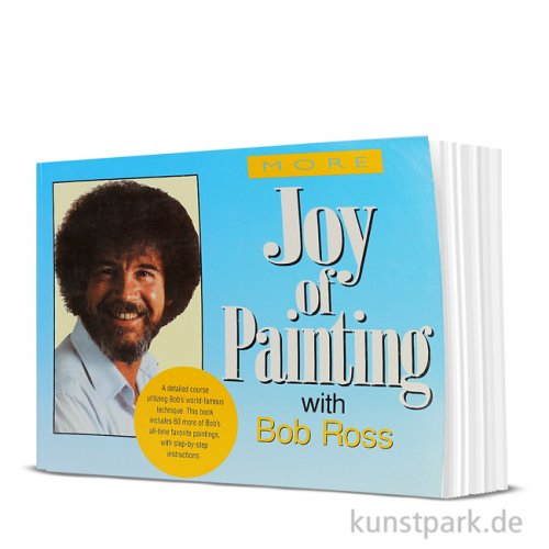 Bob Ross Buch - Sammelband More Joy of Painting
