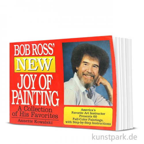 Bob Ross Buch - Sammelband New Joy of Painting