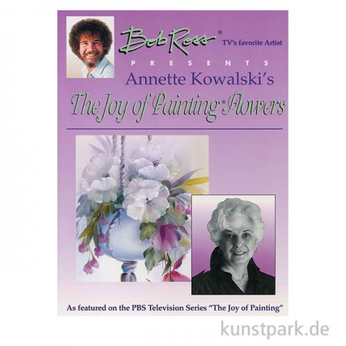 Bob Ross Buch - The Joy of Painting Flowers I