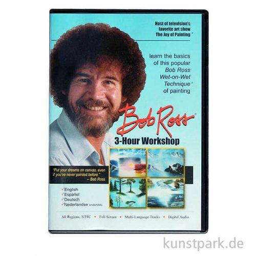 Bob Ross DVD 3 Stunden Workshop, Deutsch