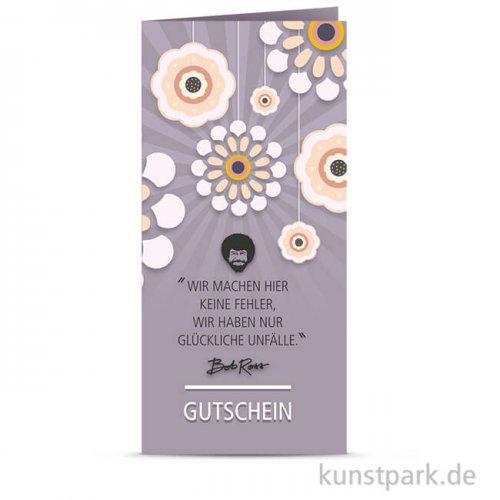 Bob Ross Gutschein - Blumenfreude
