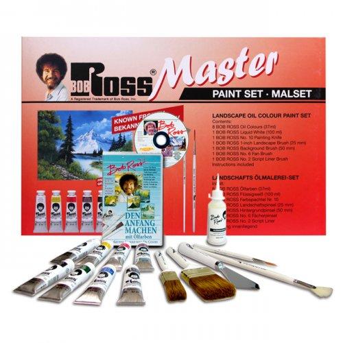 Bob Ross - MEISTER Mal-Set