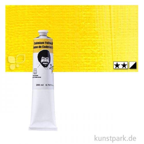 Bob Ross Ölfarbe Landschaft 200 ml | Kadmiumgelb