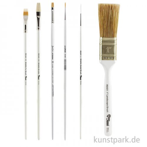 Bob Ross Pinselset Wildtiere