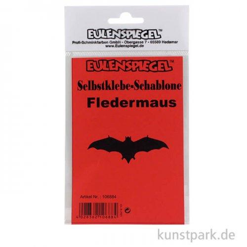 Bodypainting-Schablone - Fledermaus