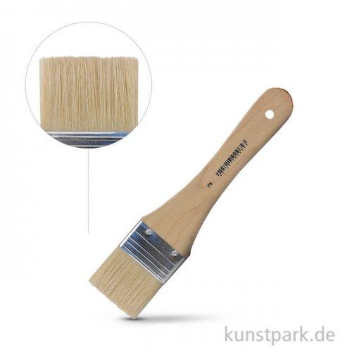 Borstpinsel flach