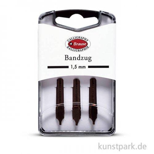 BRAUSE Bandzugfeder, 3 Stück 1,5 mm