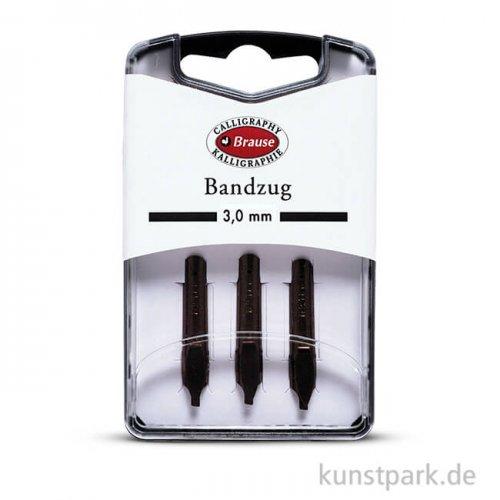 BRAUSE Bandzugfeder, 3 Stück 3 mm