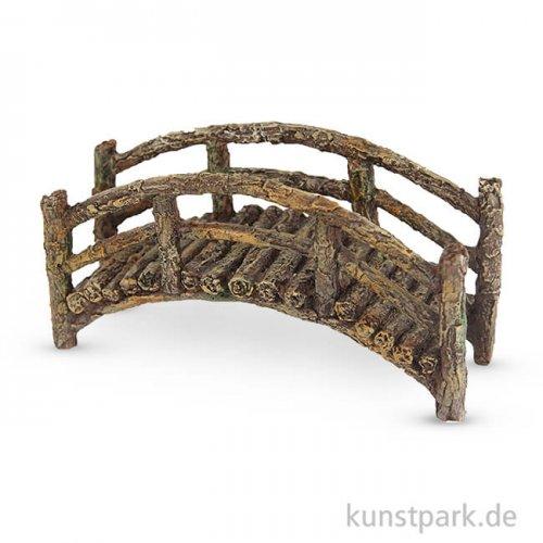Miniatur Brücke in Holzoptik 7 cm