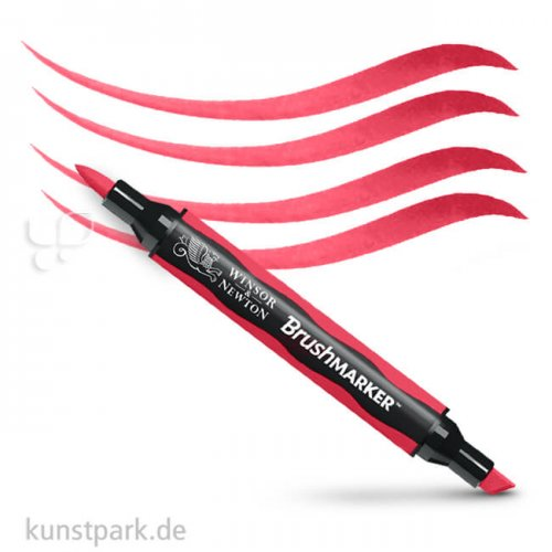 Winsor & Newton - Brush Marker Einzelstift   R455 Rubin