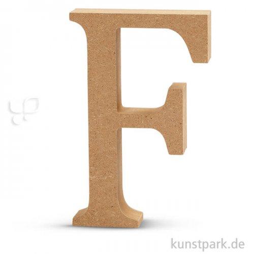 Großbuchstaben aus Holz, 13 cm 2 cm | F