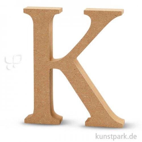 Großbuchstaben aus Holz, 13 cm 2 cm | K