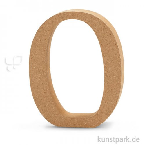 Großbuchstaben aus Holz, 13 cm 2 cm | O