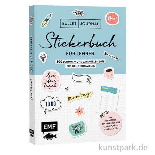Stickerbuch für Lehrer - Bullet Journal, Edition Fischer