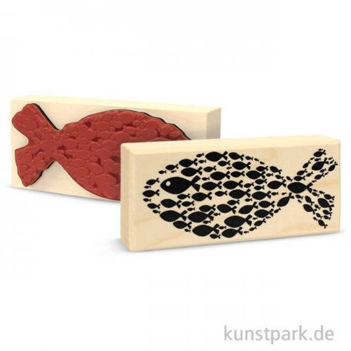 Butterer Stempel - Fisch, 4x9 cm