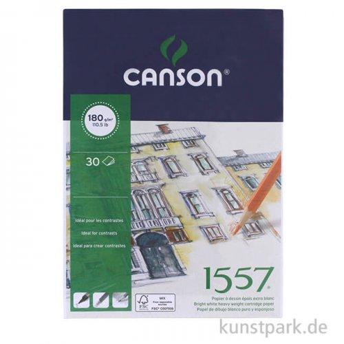 Canson 1557 Zeichenpapier, 30 Blatt, 180 g
