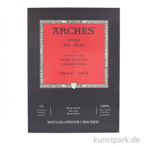 ARCHES Ölmalblock, 12 Blatt, 300g 31 x 41 cm