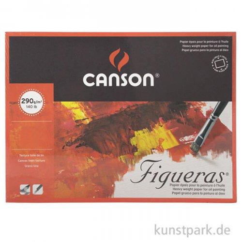 Canson FIGUERAS Öl + Acrylblock, 10 Blatt, 290g