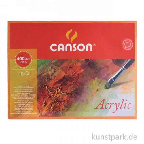 Canson MONTVAL Acrylblock, 10 Blatt, 400g