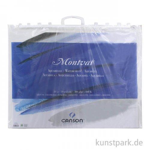 Canson MONTVAL Tasche, 10 Blatt, 300g fein, 50 x 65 cm