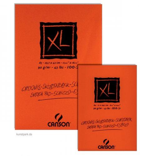 Canson Skizzen XL Block, 100 Blatt, 90g DIN A4