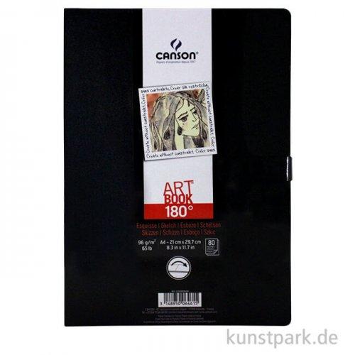 Canson Skizzenbuch 180° Grad, 80 Blatt, 96 g