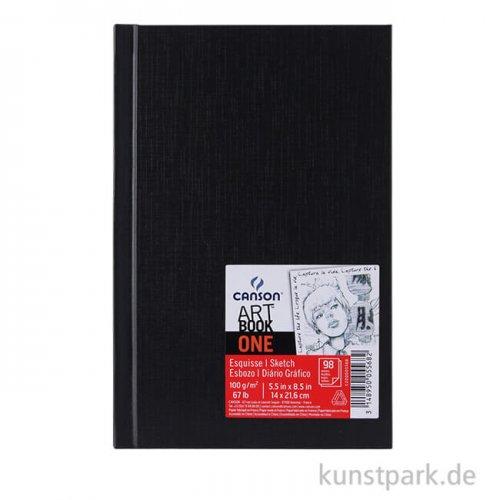 Canson Skizzenbuch ONE, 100 Blatt, 100 g DIN A4