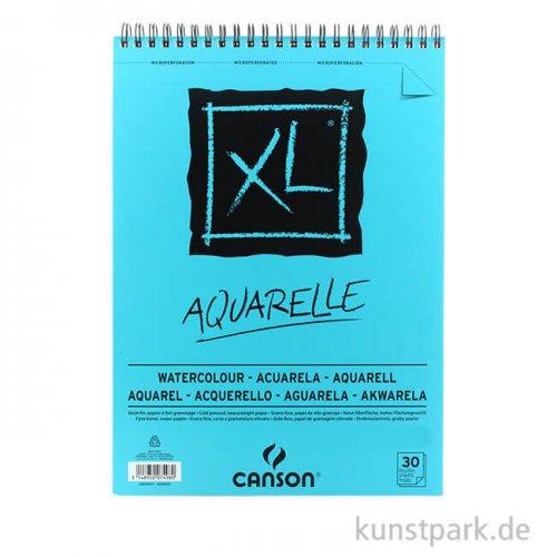 Canson XL AQUARELLE - Aquarellpapier, 30 Blatt, 300g DIN A4