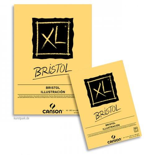 Canson XL Bristol Zeichenpapier, 50 Blatt, 180g DIN A4