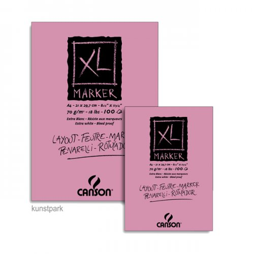 Canson XL Marker Layoutblock, 100 Blatt, 70g