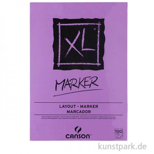 Canson XL Marker Layoutblock, 100 Blatt, 70g DIN A4