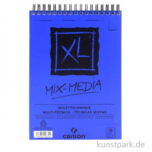 Canson XL Mix Media Allroundblock 300g DIN A2, 15 Blatt