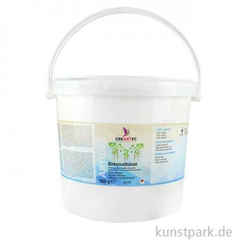 Cellulose mittellang - weisse Birkefasern, 500 g