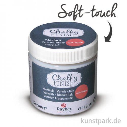 Chalky Finish Klarlack 118 ml - Soft-touch